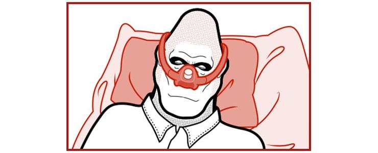 ゴリラクリニックでの笑気麻酔イメージ画像