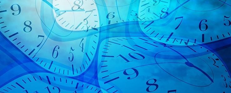 歪んだ時計